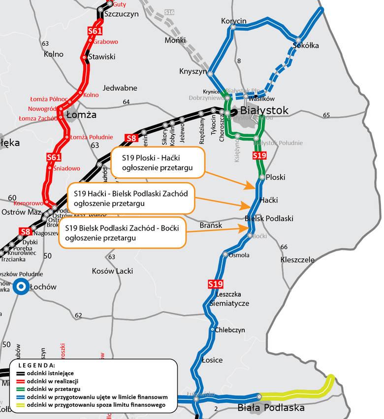 Via Carpatia. Powstaną trzy kolejne odcinki drogi ekspresowej S19. Ogłoszono przetarg (zdjęcia)