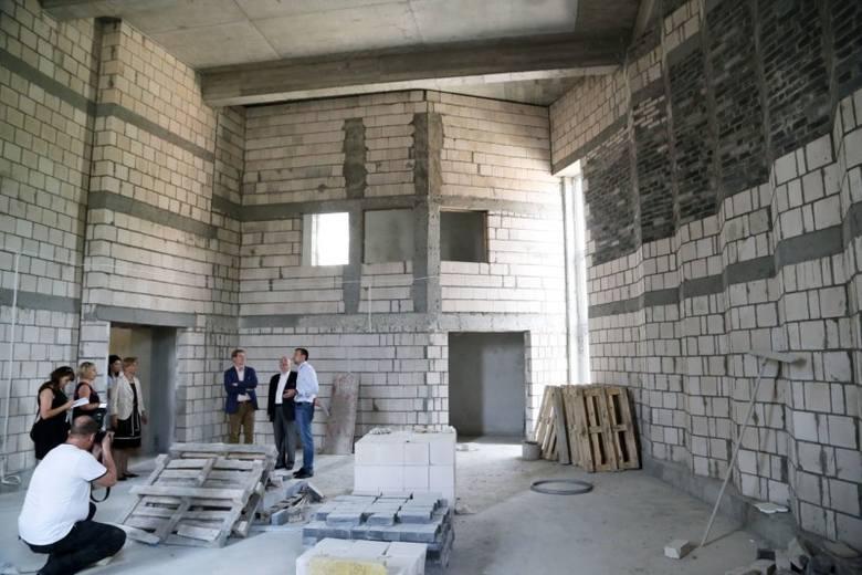 Uniwersytet muzyczny rozbudowuje siedzibę (zdjęcia)