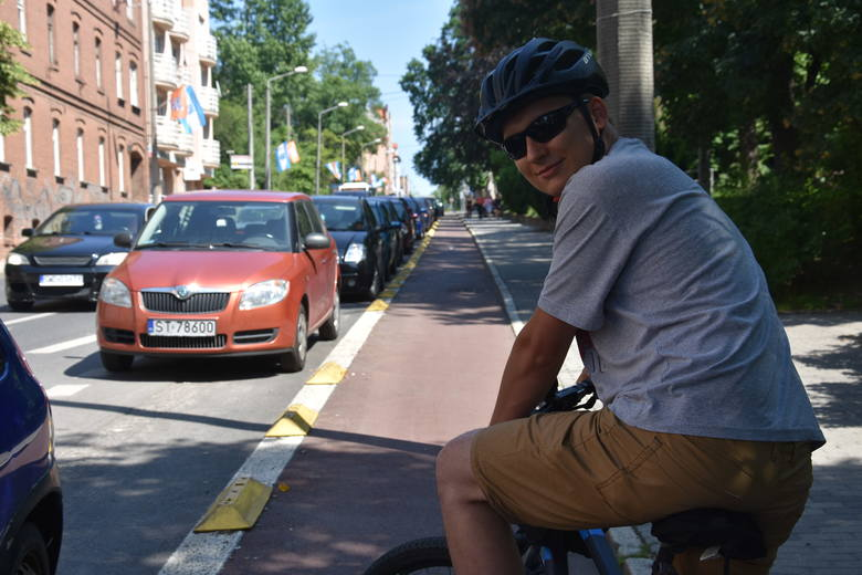 Dziennikarze na rowerach: Testujemy kontrapasy w Rybniku