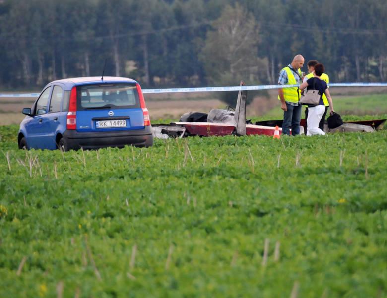Tragiczny wypadek samolotu w Krośnie. Prokuratura: pilot nie jest winny