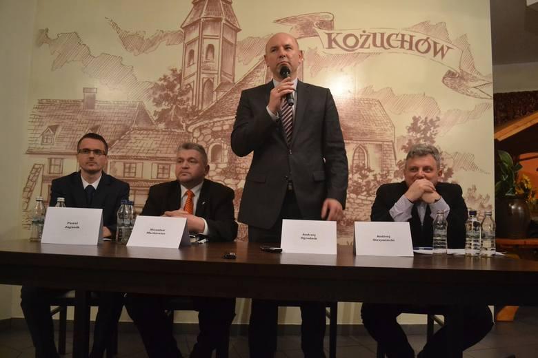 """Debata kandydatów na burmistrza Kożuchowa została zorganizowana przez """"Gazetę Lubuską"""""""