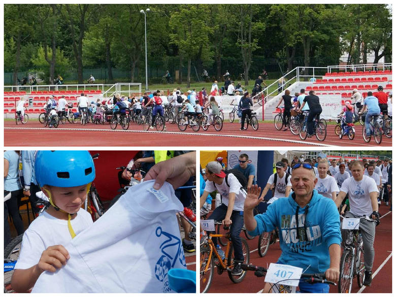 Ponad 400 cyklistów wzięło udział w rajdzie rowerowym po Inowrocławiu [zdjęcia]
