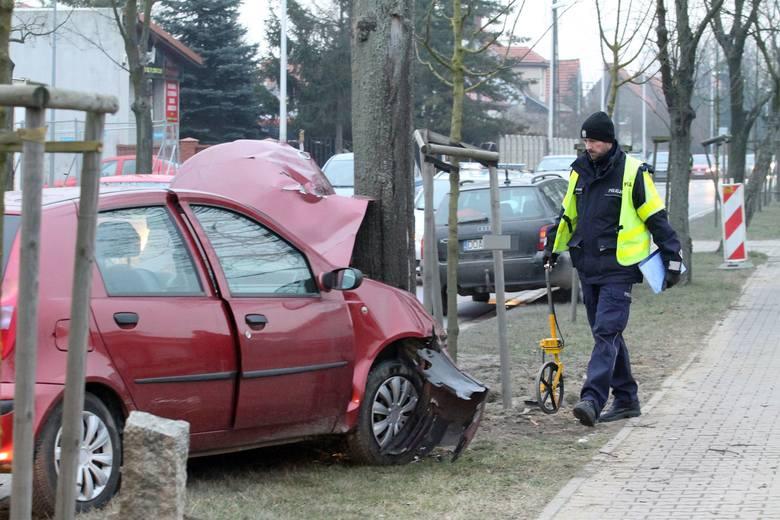 Wypadek na ulicy Głównej