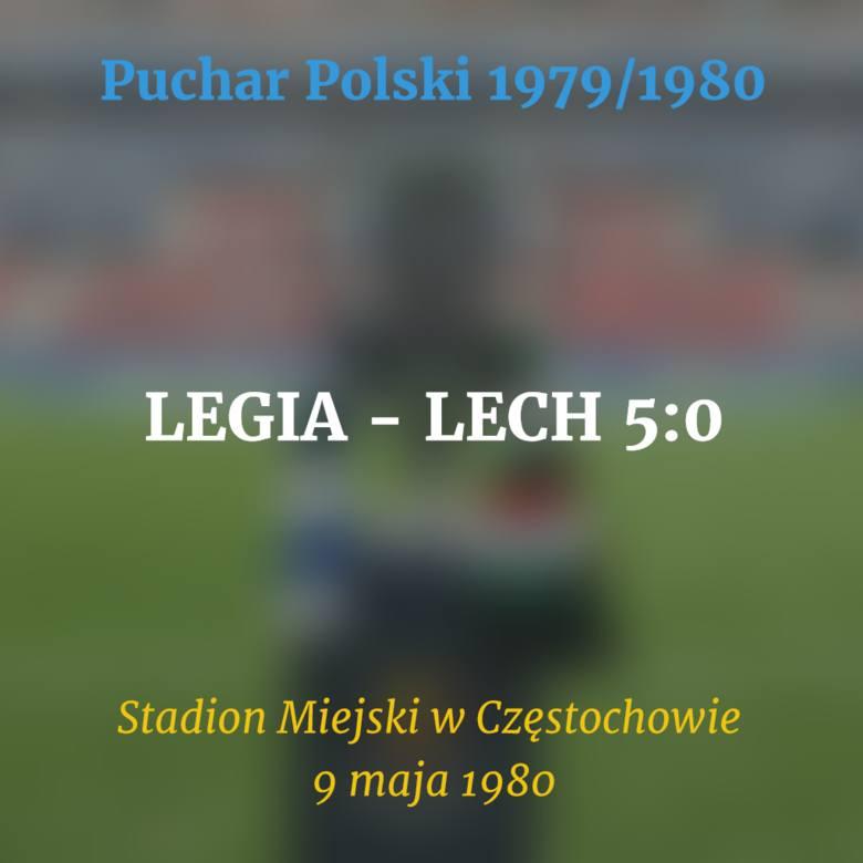 Do tej pory piłkarze Kolejorza w finale Pucharu Polski walczyli 9 razy. Po raz pierwszy 37 lat temu, po raz ostatni w ubiegłym roku. Pięć meczów zakończyło