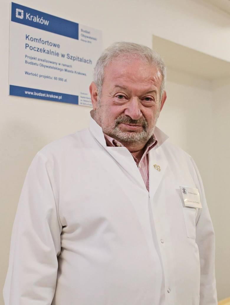 Jerzy Friediger, dyrektor szpitala Żeromskiego