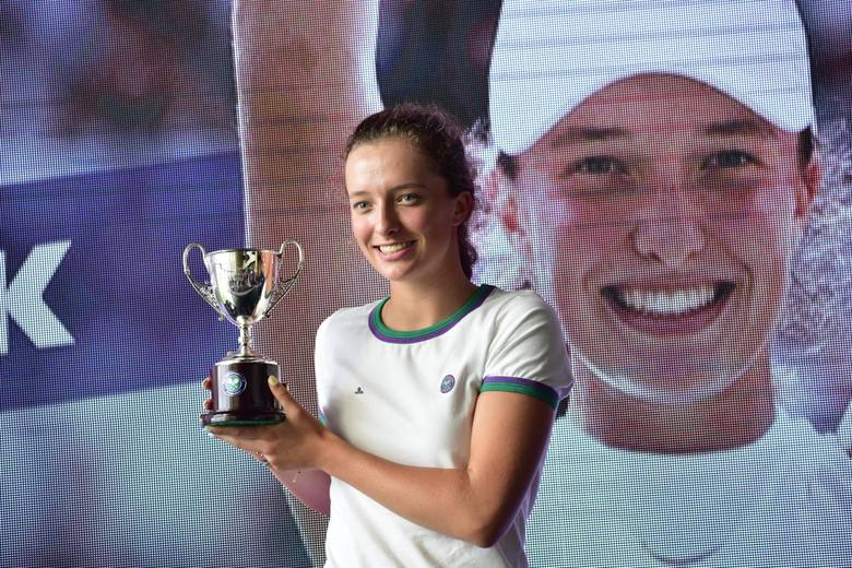Iga Świątek to również juniorska mistrzyni Wimbledonu