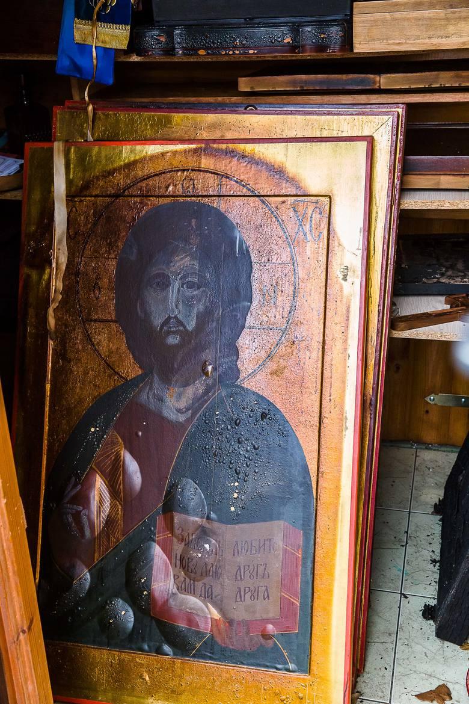 Skit ojca Gabriela w Odrynkach koło Narwi