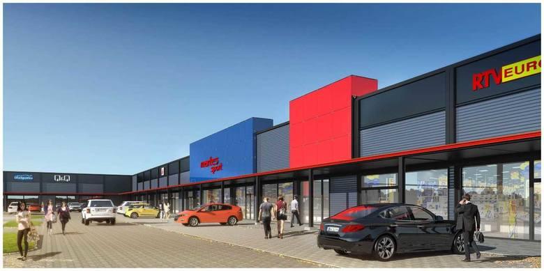 Niemal na granicach Szczecina powstaje nowa galeria handlowa, Rondo Hakena Park