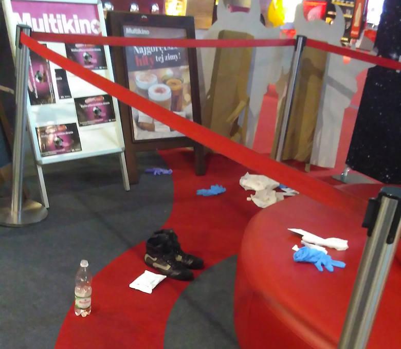 Atak nożownika w Galaxy w Szczecinie. Policja zatrzymała mężczyznę