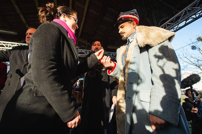 Haller odebrał dwa pierścienie od władz Gdańska