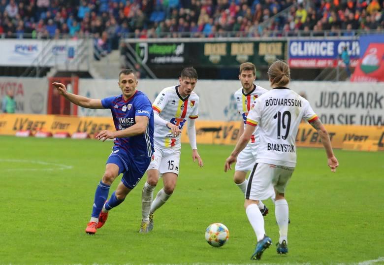 Piłkarze Jagiellonii w piątek zmierzą się na wyjeździe z Piastem Gliwice
