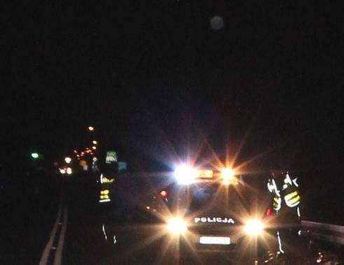 Wypadek we Frydrychowicach. Samochód zjechał z drogi i uderzył w drzewo