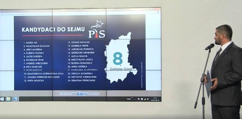 W piątek 16 sierpnia PiS przedstawił swoich kandydatów w wyborach parlamentarnych. Odbędą się one w niedzielę 13 października. Jeśli chodzi o wybory
