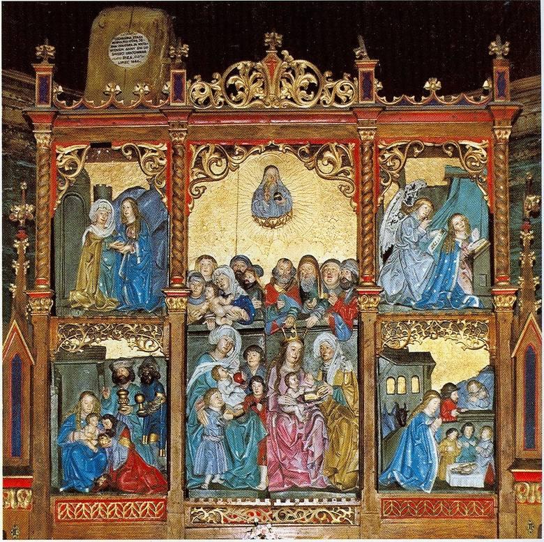 Kościół świętej Anny w Oleśnie z 1518 roku.