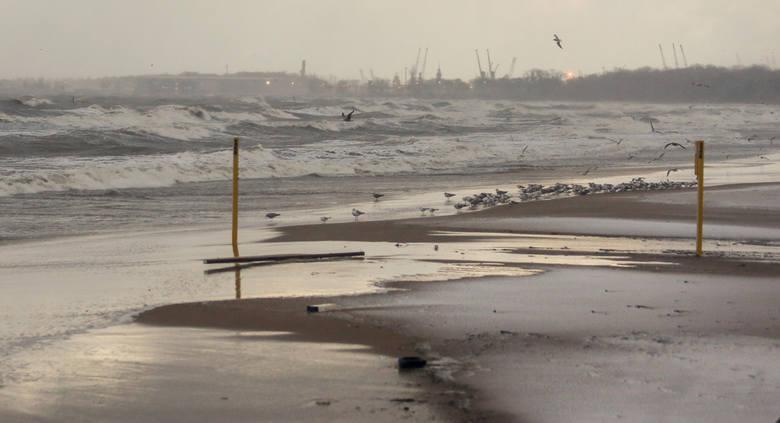 Silny wiatr na Pomorzu