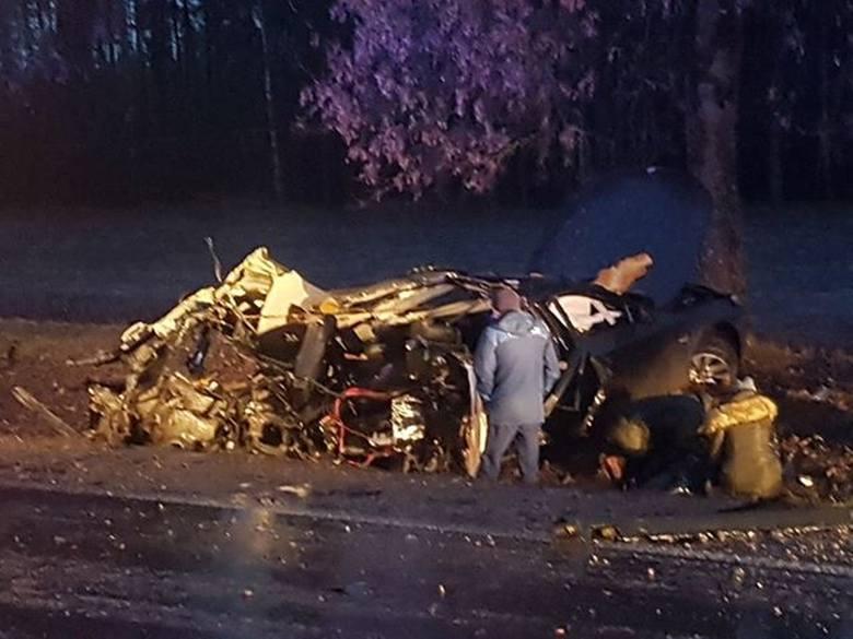 Czechowizna. Wypadek na DK 65. Mężczyzna zginął na miejscu