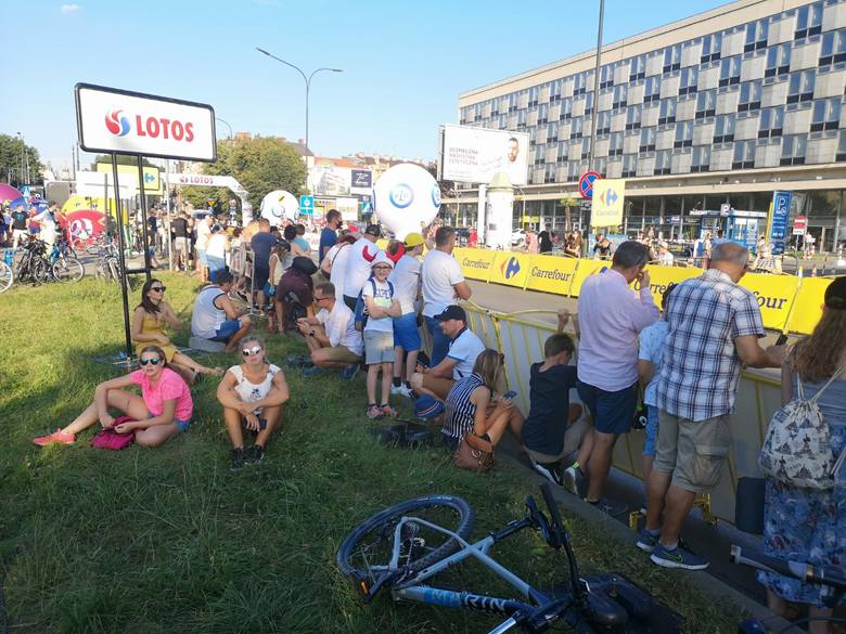 Kibice na krakowskim etapie Tour de Pologne