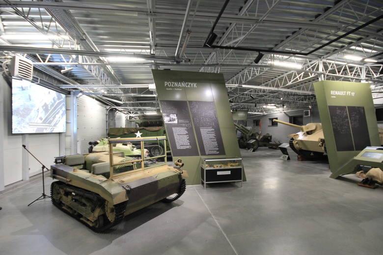 Po wielu latach Muzeum Broni Pancernej przeniosło się z jednostki wojskowej na Golęcinie do nowej siedziby na poznańskiej Ławicy. Teraz jest oddziałem