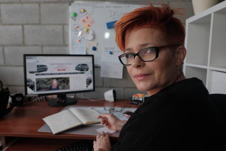 """Renata Saba, założycielka """"Renata pisze""""."""
