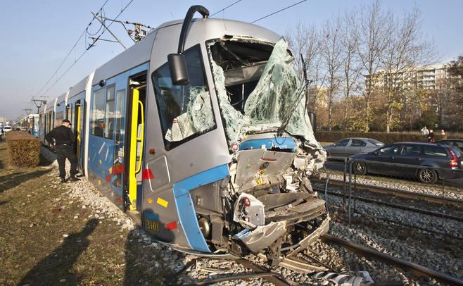 Wypadek tramwajów na Legnickiej, Wrocław, listopad 2011