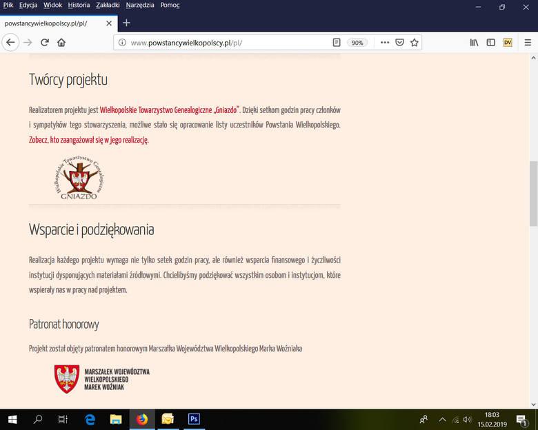 Rusza największa lista powstańców wielkopolskich - ich potomkowie mogą szukać i dodawać do niej swoich przodków!