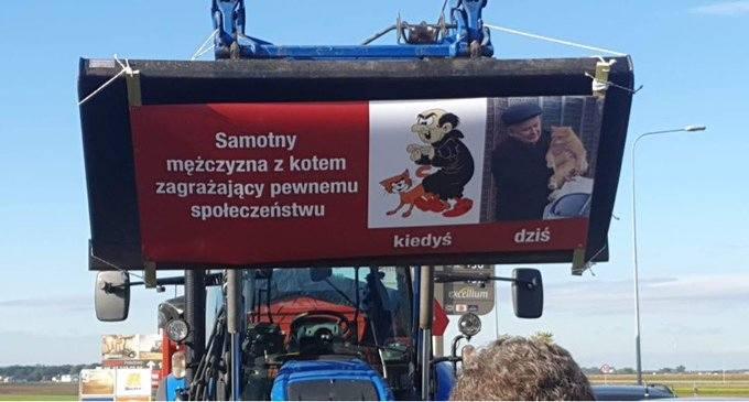 Michał Kołodziejczak mówi o 5 dla zwierząt Kaczyńskiego? Lider AgroUnii na czele protestów rolników: Nie dla Piątki dla zwierząt 14.10.2020