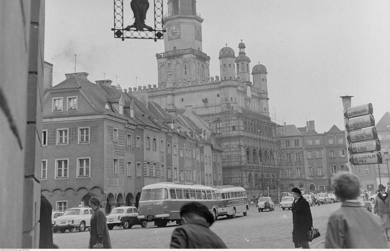 Pół wieku to szmat czasu. Postanowiliśmy zajrzeć do archiwum Narodowego Archiwum Cyfrowego i poszukać zdjęć Poznania z przełomu lat 60. i 70. XX wieku.