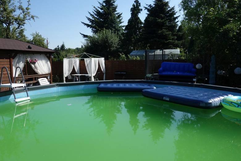 W dużym basenie stojącym za nowym drewnianym domkiem w Rodzinnych Ogrodach Działkowych utopił się 36-letni właściciel działki.Jego ciało znalazła w niedzielę