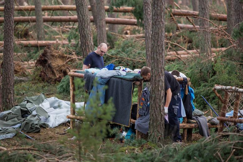 Tragedia w obozie harcerskim w Suszku (powiat chojnicki)