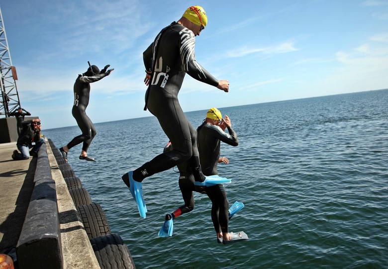Herbalife Triathlon Ironman 70.3 Gdynia: Ludzie z żelaza startują w Gdyni i Rumi