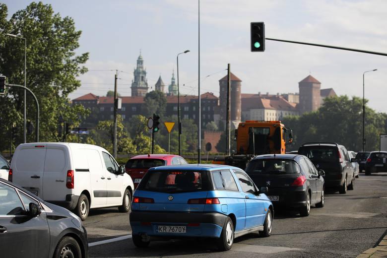 Korki wróciły na krakowskie ulice