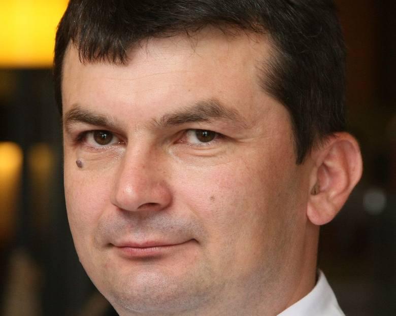 Mirosław Ciołak, szef kuchni  hotelu Tęczowy Młyn