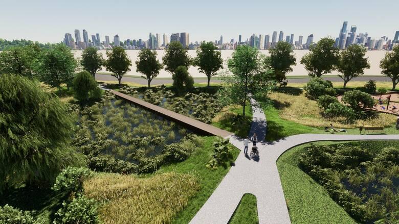 Tak ma prezentować się nowy park w Katowicach