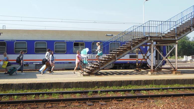 Dworzec w Trzebini