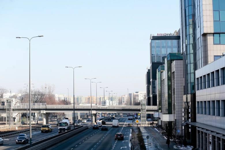 Siedziba firmy AstraZeneca w Warszawie.