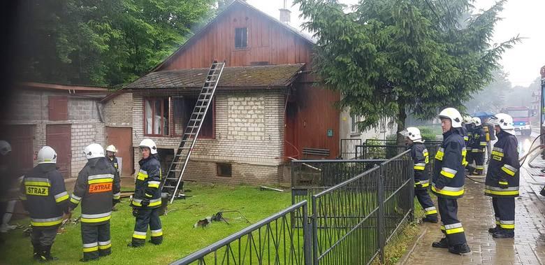 Strażacy z OSP Wielmoża służą podczas pożarów, podtopień, wypadków i walki z koronawirusem