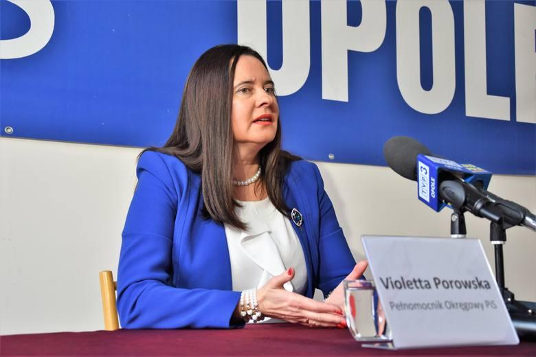 Violetta Porowska, szefowa PiS w regionie