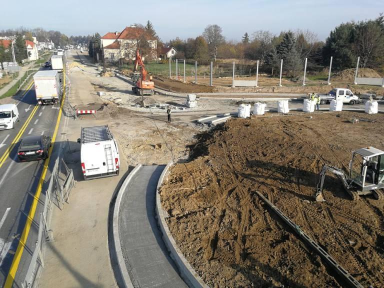 Modlnica. Rusza przebudowa fragmentu drogi krajowej nr 94. Kierowców czekają duże utrudnienia