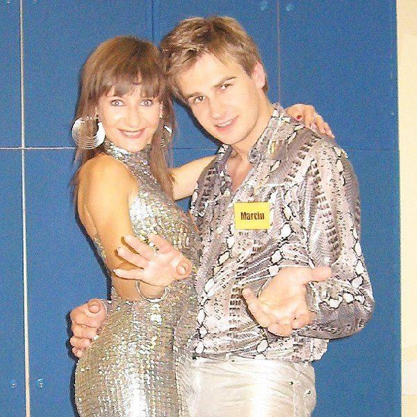 Na zdjęciu Marcin Mroziński wraz z siostrą  Magdaleną