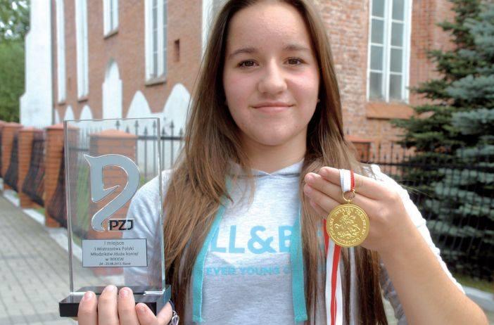 Hania Stryjewska na Mistrzostwa WKKW w swojej kategorii zdobyła 47,9 punktów, co dało jej zwycięstwo