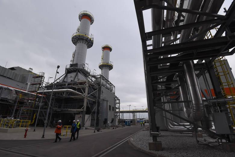 nowa elektrociepłownia zbudowana kosztem 550 milionów złotych ostała otwarta w kwietniu tego roku
