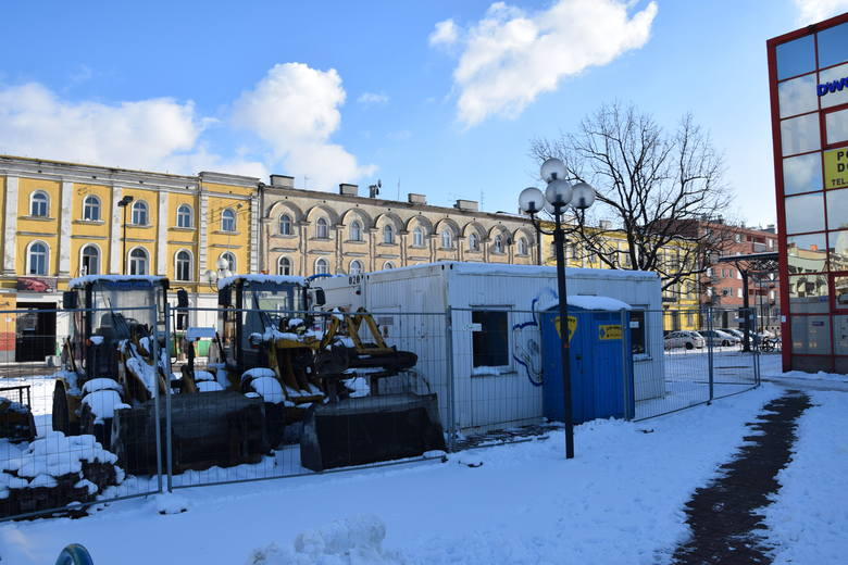 Częstochowa. Wznawiają budowę centrum przesiadkowego, zamkną ulicę Piłsudskiego