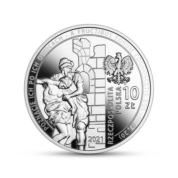 6 października srebrne 10 zł upamiętni 30-lecie wznowienia działalności przez Caritas Polska