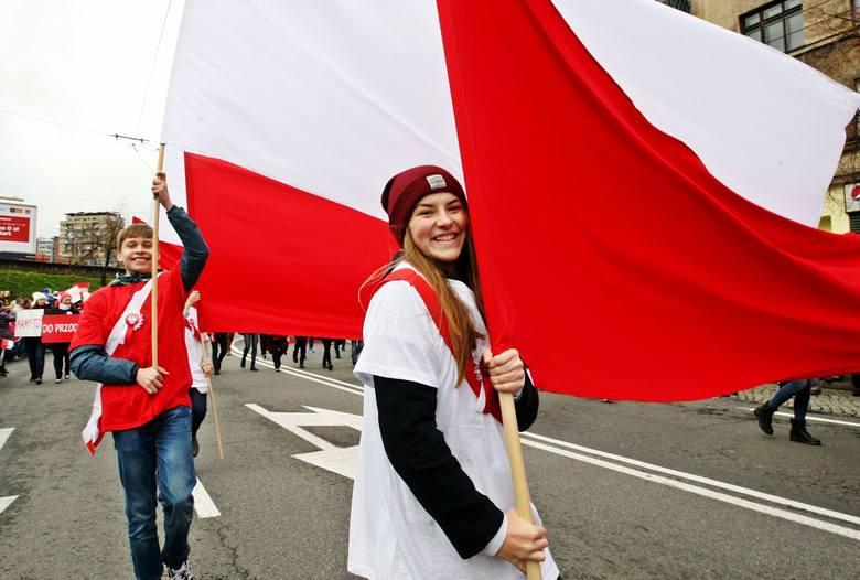 Parada Niepodległości ww Gdyni