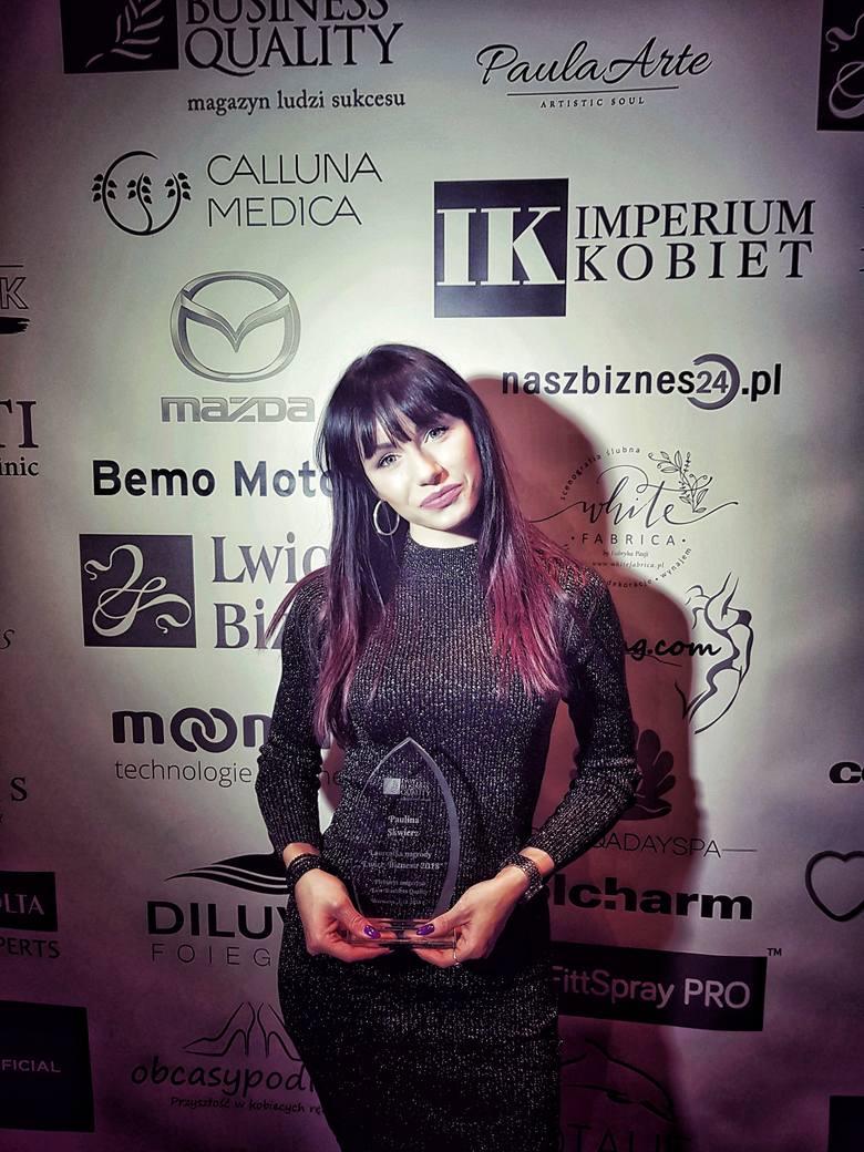 Paulina Skwierz ze Słupska stylizuje oczy gwiazd. Nagrodzona prestiżowym wyróżnieniem!