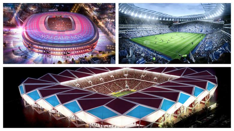 Zachwycające projekty nowych stadionów [GALERIA]