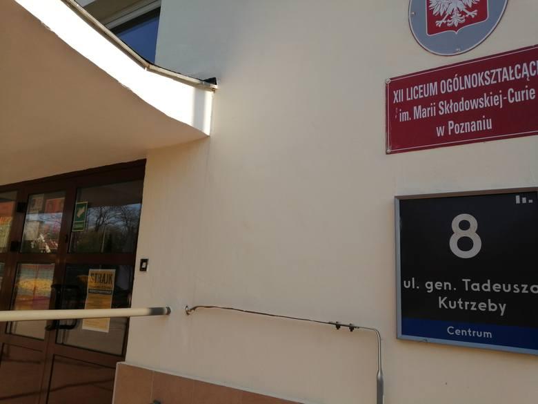 Strajk w XII LO w Poznaniu