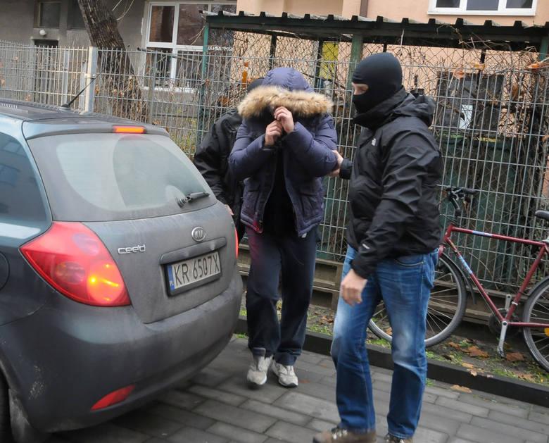 """""""Lala"""" podczas zatrzymania w 2014 roku"""