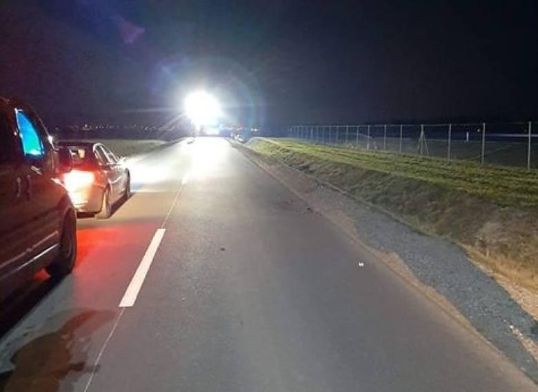 Śmiertelne potracenie pieszej w Kiezmarku 7.02.2020