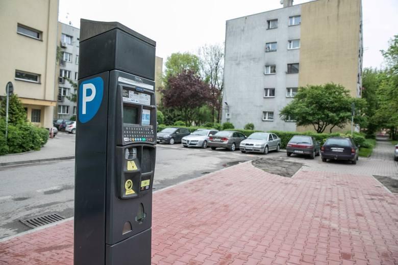 Strefa płatnego parkowania w Krakowie